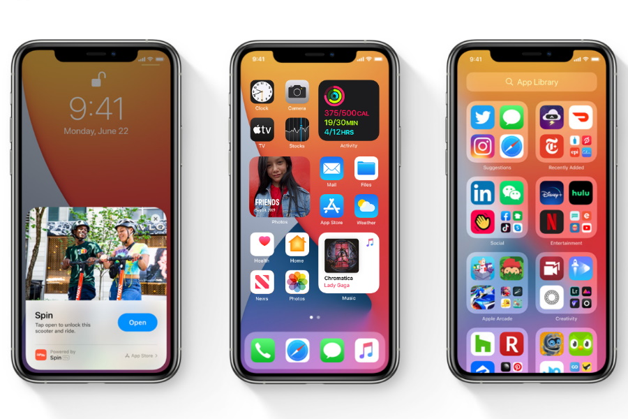apple ios 14 first look