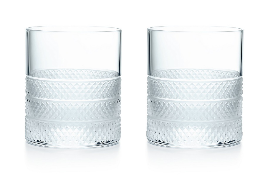 double old fashioned whisky glasses
