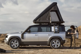 land rover tent