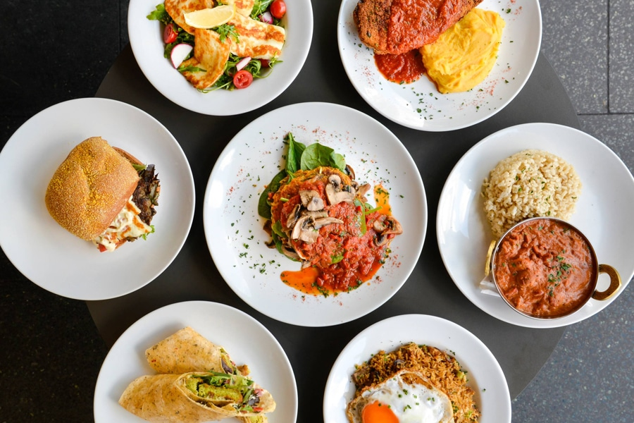 Badde Manor vegetarian restaurant