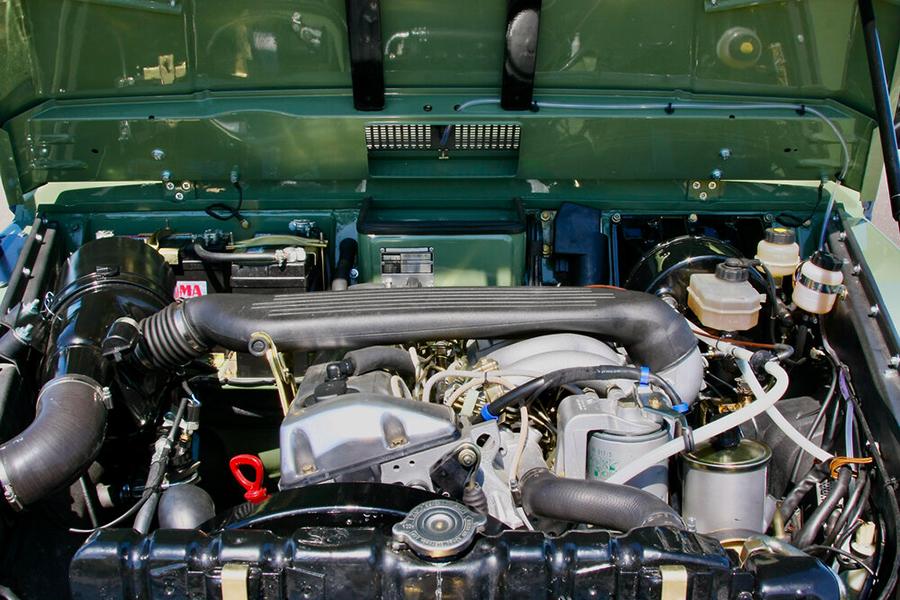 1990 Mercedes Benz G Wagen Custom Build engine
