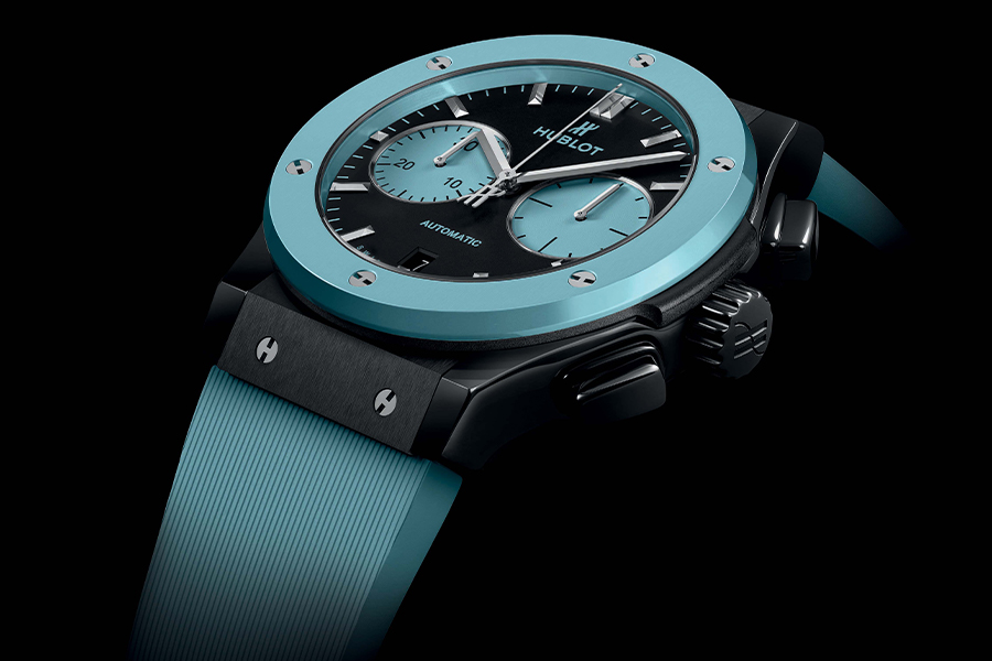 Hublot's Latest Classic Fusion is an Ode to Capri