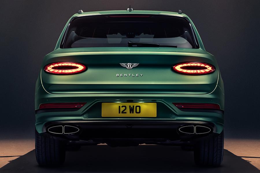 Bentley Bentayga SUV back