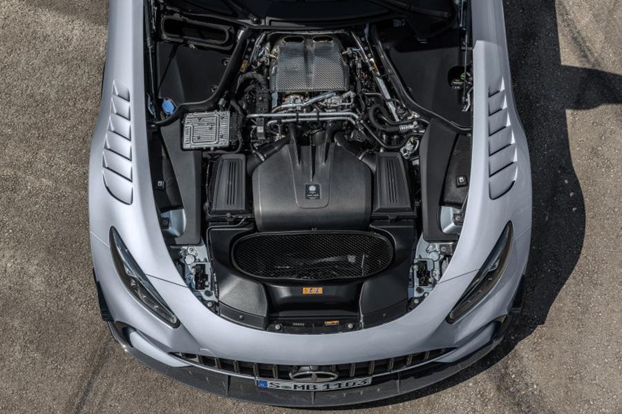 2021 Merc AMG GT Black Series engine