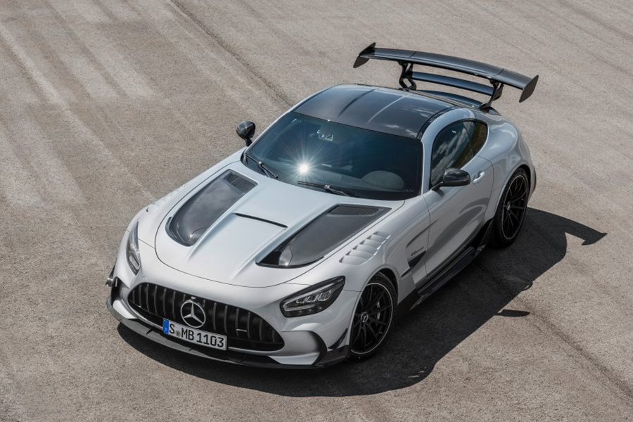2021 Merc AMG GT Black Series top view