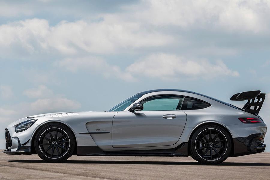 2021 Merc AMG GT Black Series side view
