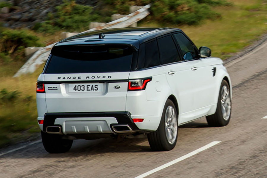2021 Range Rover Sport revealed, debuts SVR Carbon Edition back view