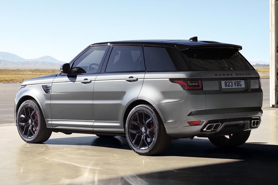 2021 Range Rover Sport SVR Carbon Edition back side view