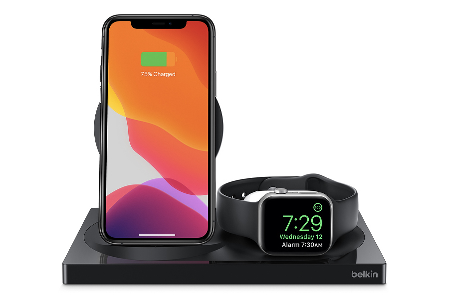 4 Belkin BOOSTCHARGE 3-in-1 Wireless Charger
