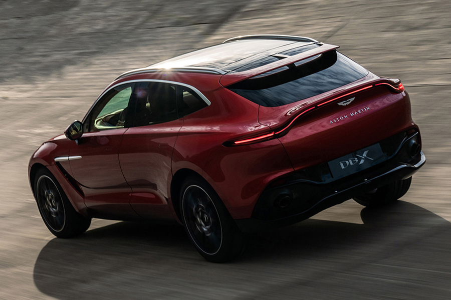 Aston Martin DBX back view