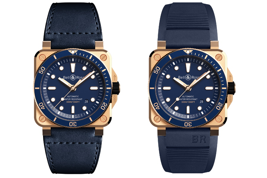 bell & Ross limited edition bronze dive watch