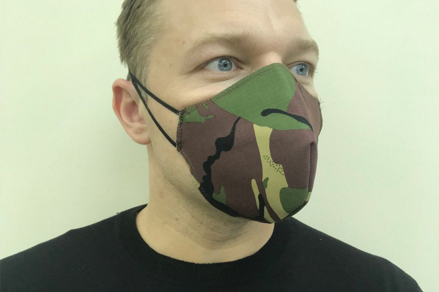 Best Fabric Face Masks - Etsy Camo