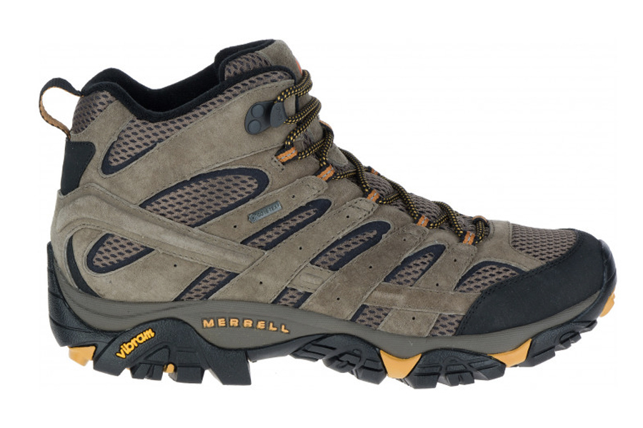 Best Hiking Boots for Men - Merrell MOAB 2 Mid GTX