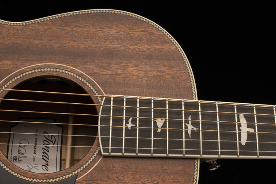 Acoustic Guitar from PRS Guitars sound hole