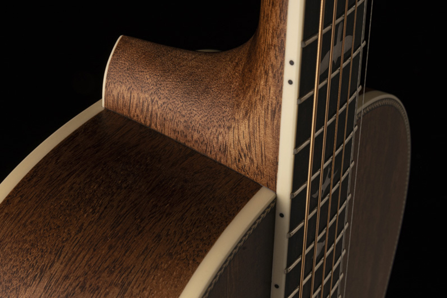 Acoustic Guitar from PRS Guitars heel