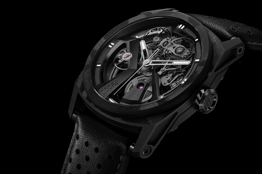 This Hand-Numbered X41 Edition 4 AeroCarbon Watch is Now Available In Limited Supply