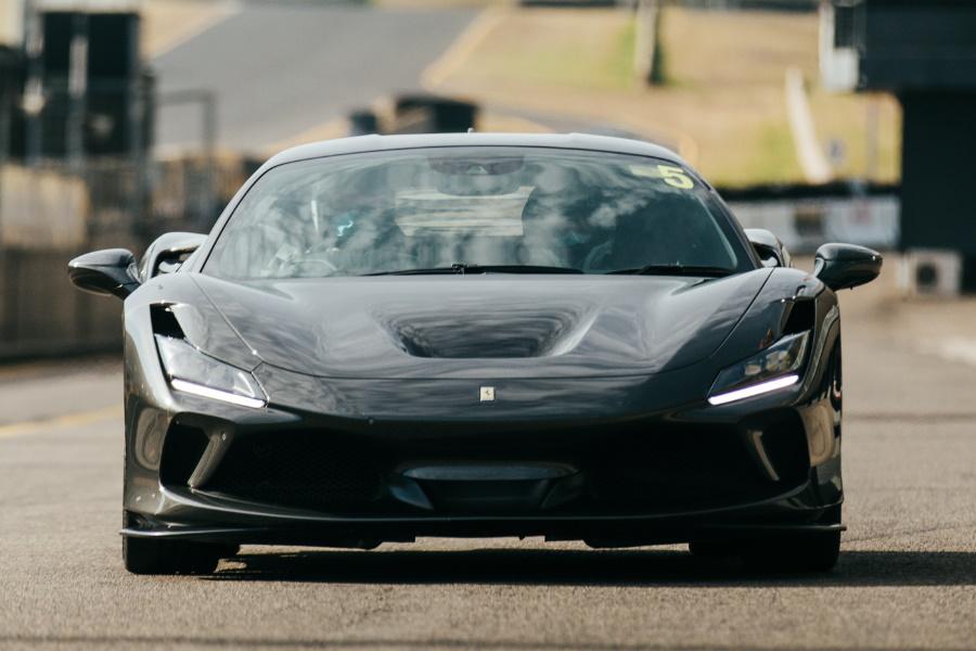 Ferrari F8 Tributo in black