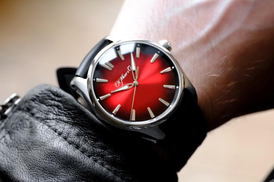 luxury red swiss watch