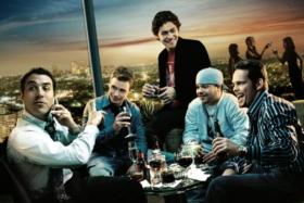Entourage Season 2 poster with cast