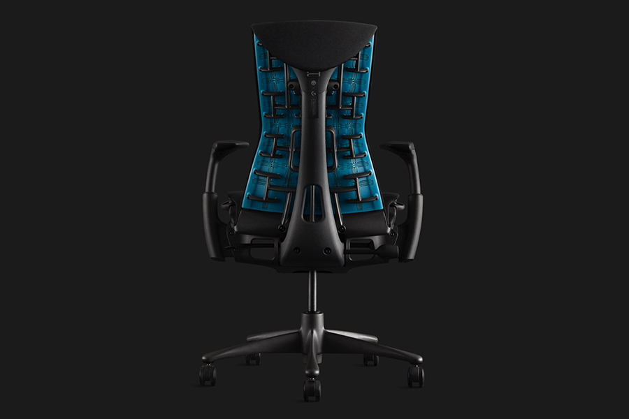 Herman Miller x Logitech Chair back view