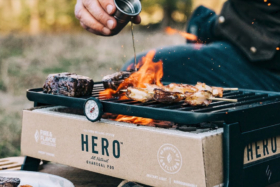 Hero Grill Fire and Flavor