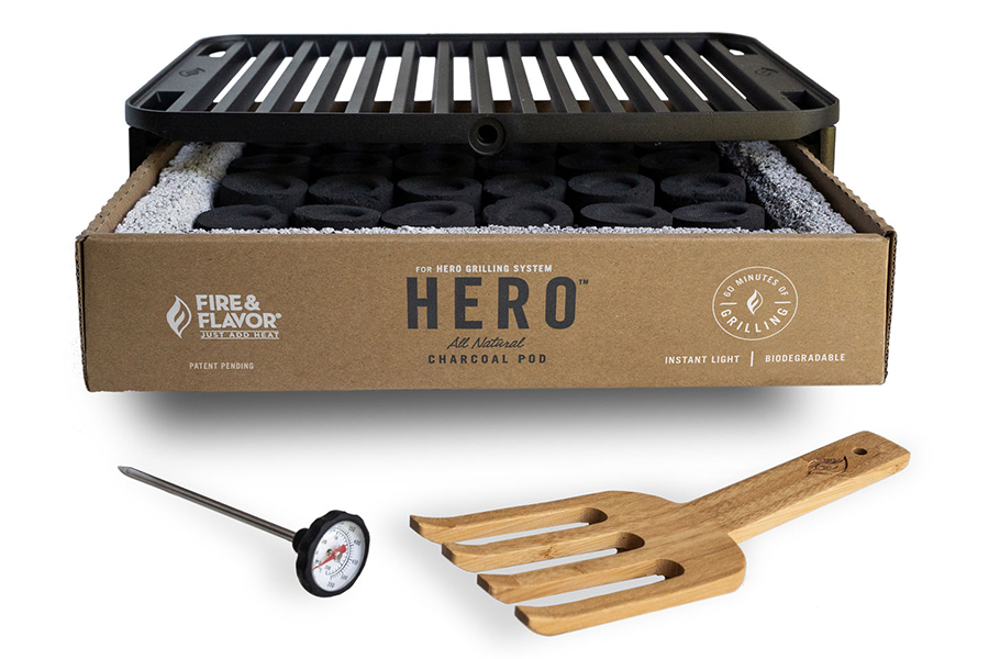 Hero Grill System with accessories