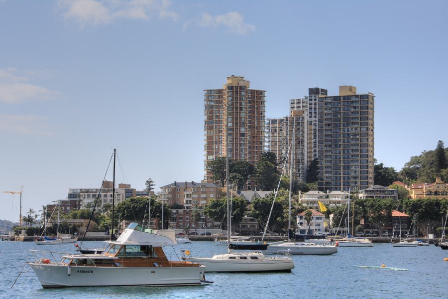 Highest-earning suburbs australia - Darling Point