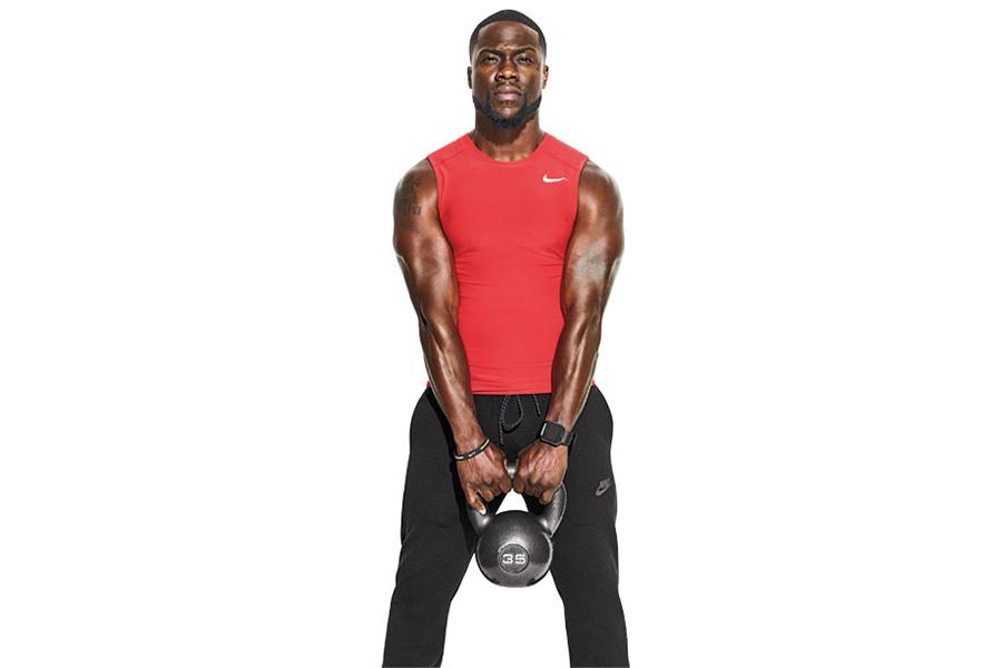 Hustle Hart' Kevin Hart's home workout