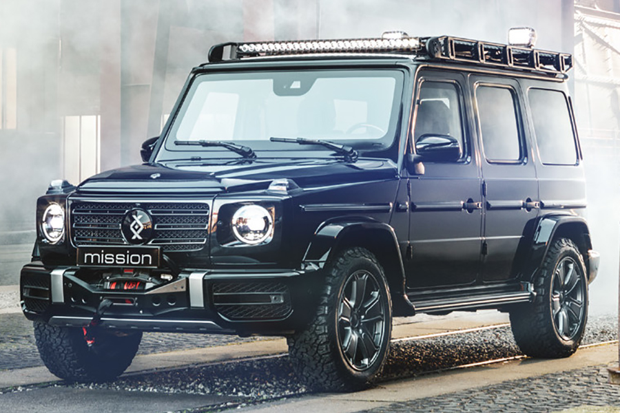 Invicto Mission VR6 brabas vehicle