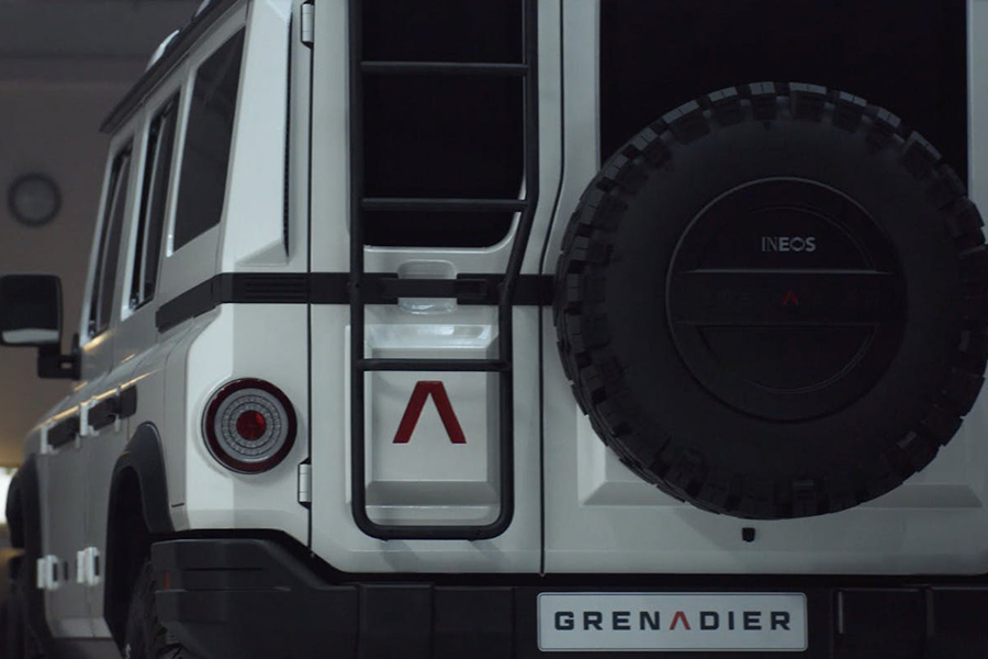 Ineos Grenadier back view