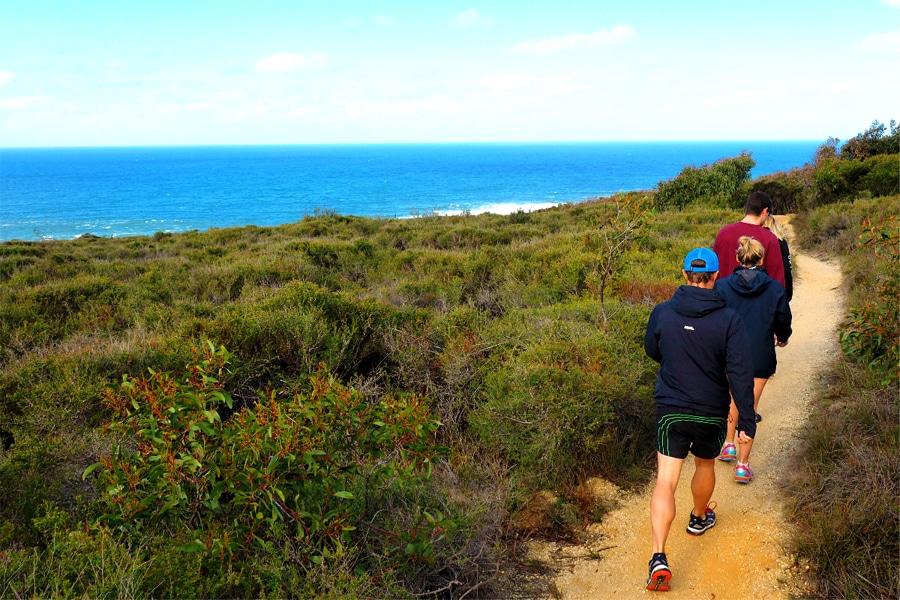 Walking Trail Bells Beach - Ironbark Basin
