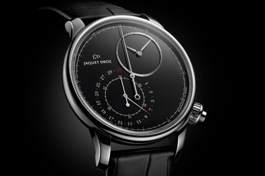 Jaquet Droz Grande Seconde Off-Centered Chronograph Goes Onyx | Man of Many
