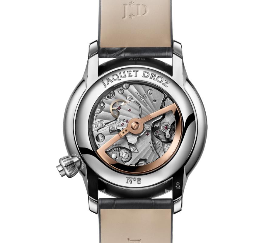 luxury swiss timepiece caseback