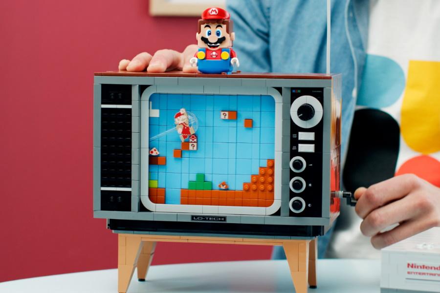 LEGO NES building kit