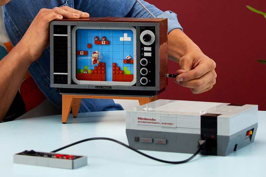 LEGO Nintendo building kit