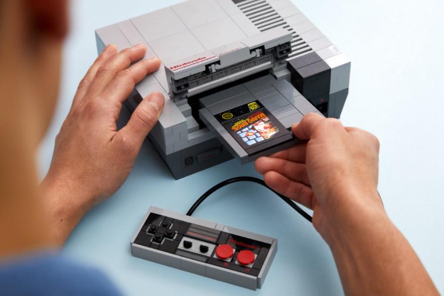 LEGO NES console kit