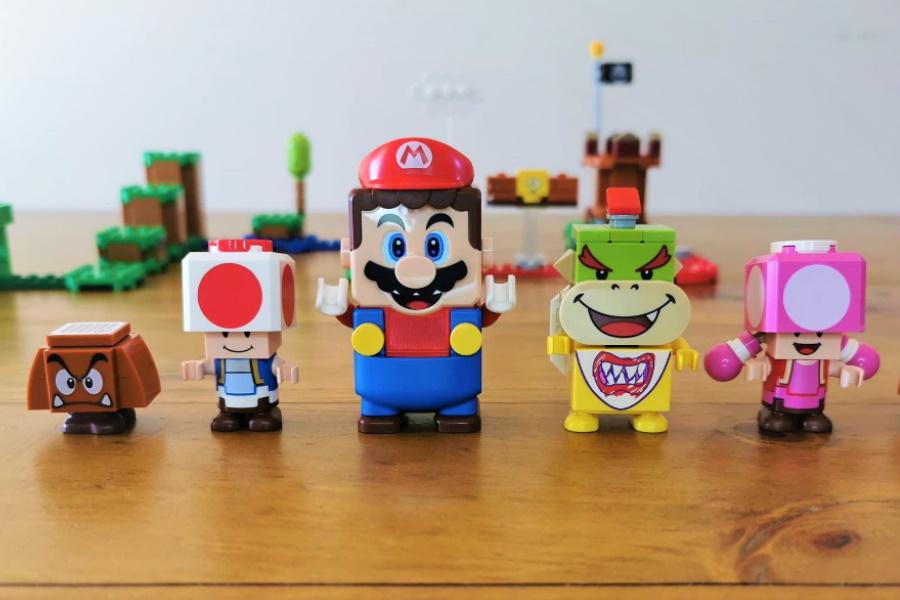 LEGO Super Mario Figures