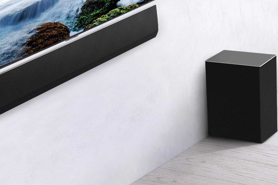 LG GX Soundbar side view