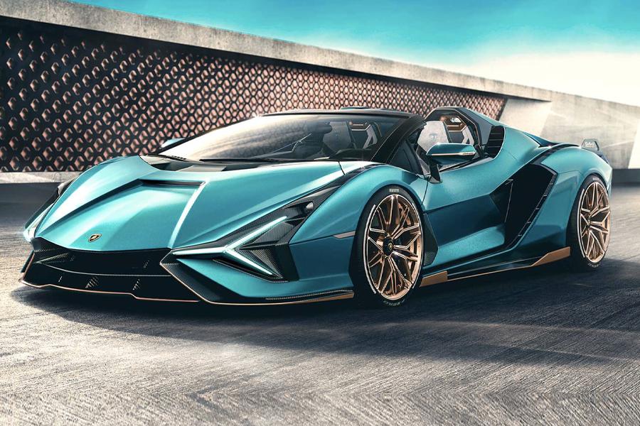 Lamborghini Sian Roadster 2