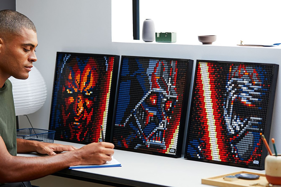 Lego has a new line of buildable pop art star wars
