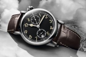 longines aviation watch classic design