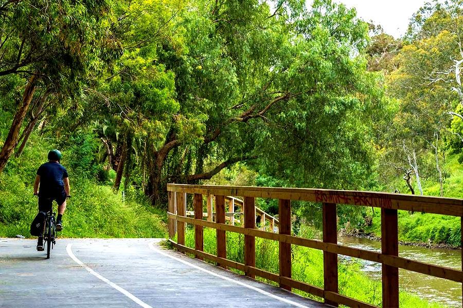 Walking Trail Templestowe - Main Yarra