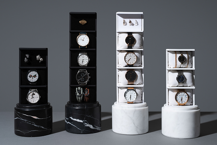 This Space-Saving Storage Unit Presents Your Watch Collection as a Work of Art
