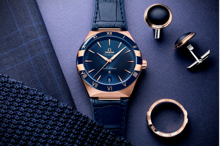OMEGA Constellation Gent's collection blue