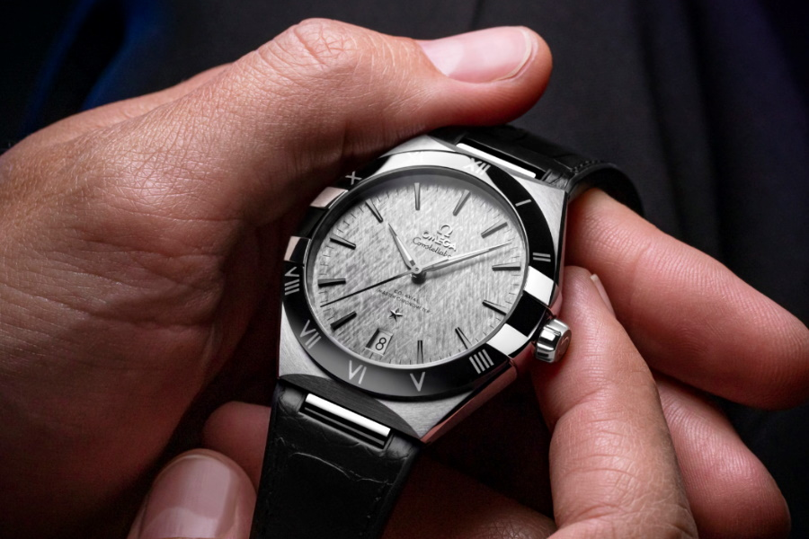 OMEGA Constellation Gent's collection silver