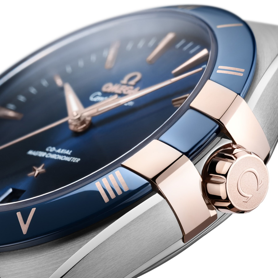 luxury omega wristwatch