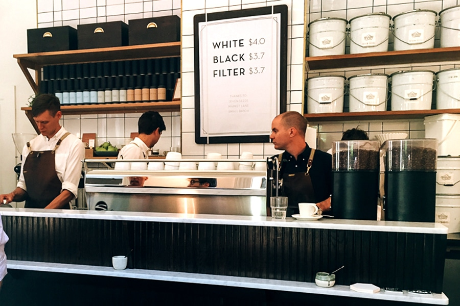 Best Cafe's (Melbourne) - Patricia Coffee Brewers