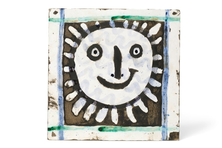 Picasso Works and Collection Visage Soleil
