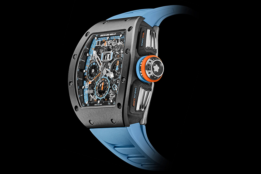 Richard Mille's New Flyback Chronograph GMT Rivals Diamonds | Man of Many