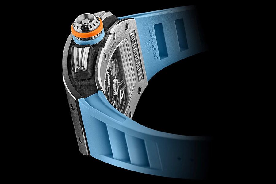RM 11-05 Automatic Winding Flyback Chronograph GMT side view